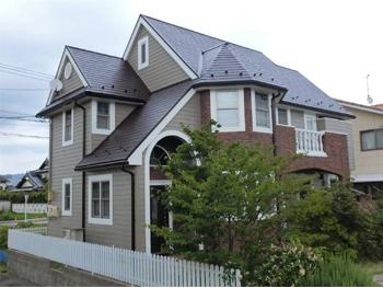カラーシミュレーション&防カビ仕様大きくイメージチェンジ&家屋保護