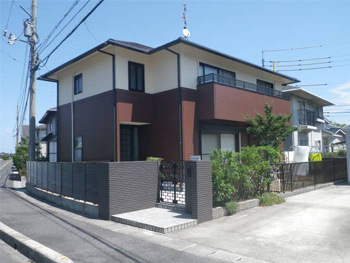 超低級汚染遮熱屋根塗料&超防カビ高耐久防水塗料で家屋永持ち