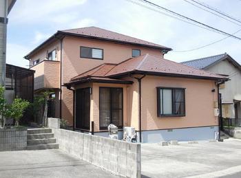 屋根外壁共に超低汚染&遮熱塗装で家屋を保護いたしました。