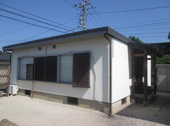 2棟同時に屋根遮熱塗装、外壁遮熱防水塗装リフォーム