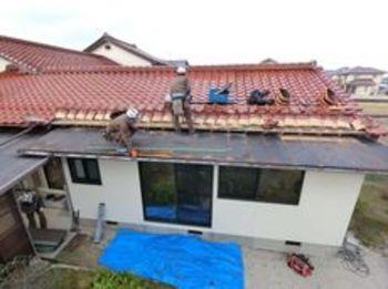 錆が進行した瓦棒屋根をリニューアルさせていただきました
