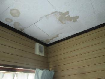 雨漏り修繕をご依頼いただきました